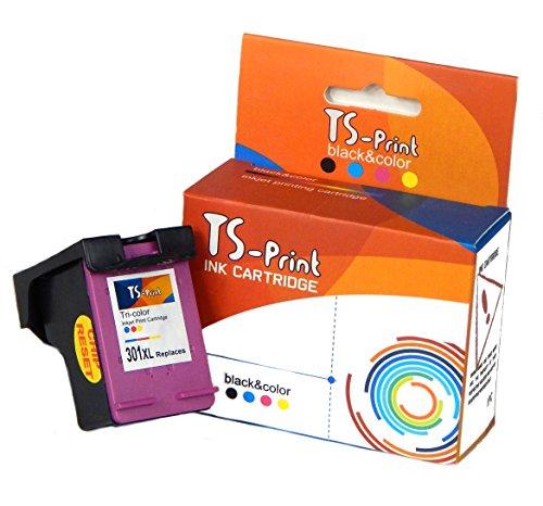 TS-Print Rigenerata HP 301XL 301 XL Cartuccia d'inchiostro Tricromia DeskJet 1000 1010 1050 1510 2050A 2510 2540 3000 3010 3050 3050A 3510 Envy 4500 4502 5530 5532 5539 OfficeJet 2620 4630 4632 4635