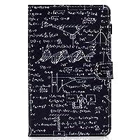 iPad Mini 1 2 3 4 5 ケース、人気オシャレ可愛い綺麗 、カードスロット、滑り止めストリップ 、 方程式