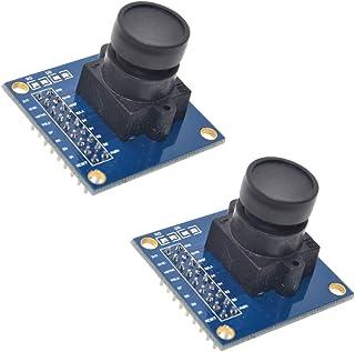 2 stks OV7670 640x480 0.3Mega 300KP VGA CMOS Camera Module I2C voor Arduino ARM FPGA