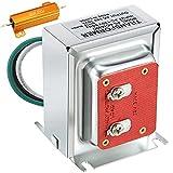 16V 30VA Doorbell Transformer with 50 W 25 Ohm Resistor for Doorbell Compatible with All Versions of Doorbell Include Nest Hello August Eufy Doorbell