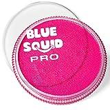 Blue Squid PRO - Pintura facial – Rosa clásico (30 gm), profesional a base de agua para pasteles, maquillaje facial y corporal para adultos, niños y SFX