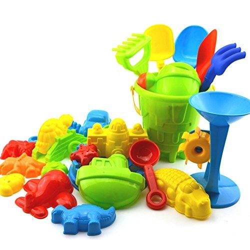 Skyeye 25Par Juguetes de Cubo de Castillo Juguetes de Juguete de Playa de Bebé Parque de Juego diseñado para niños