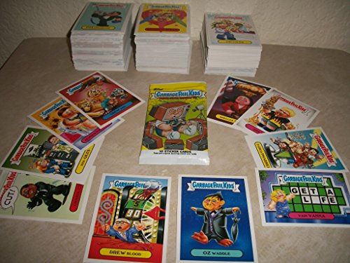 Garbage Pail Kids 2016 Prime Slime Trashy TV- LOT of Thirty Different Stickers + 2 Cereal Killer Cards.