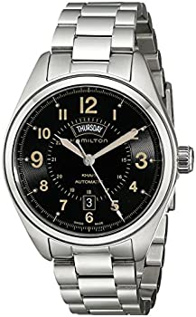 Hamilton Khaki Field Analog Display Automatic Self Wind Men's Watch