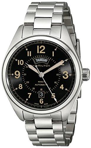 Hamilton Reloj Analogico para Hombre de Automático con Correa en Acero Inoxidable H70505933