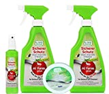 Aqua Clean AL FARAS Plus Insektenschutz mit Langzeitschutz 4tlg.