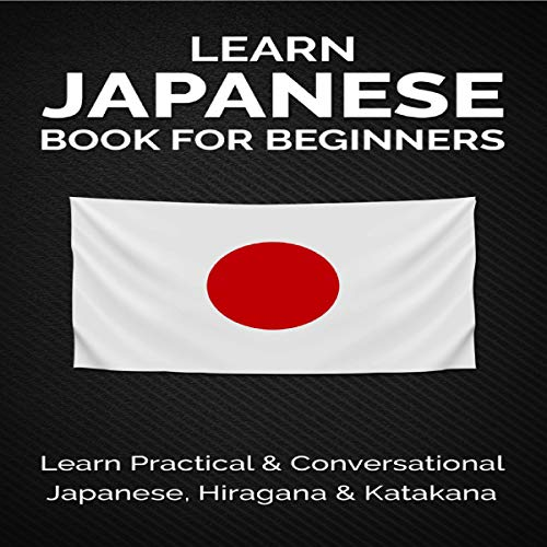 Learn Japanese Book for Beginners cover art