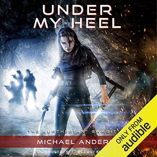 Under My Heel audiobook cover art