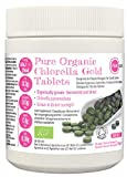 PINK SUN Chlorella Ecológica Comprimidos 1000 x 500mg (o 300 Tabletas) Orgánica Pyrenoidosa Pared Celular Rota Pastillas Alga Pura Vegano No OGM 100% Bio Organic Chlorella Pyrenoidosa Tabs 500g