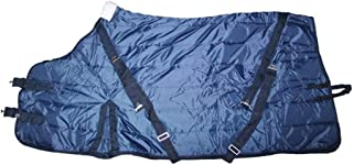 DWJ Trojan Winter 1200D Horse Rugs, Horse Exercise Sheets Waterproof Polyester Warm Ripstop Turnout Rugs for Horses Light Weight Equestrian Supplies