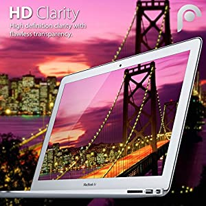 Macbook Air 13 inch Screen Protector (3 Pack) Fosmon High Quality HD Clear Screen Shield for Macbook Air LCD - 13.3 inch (16:10 Widescreen)