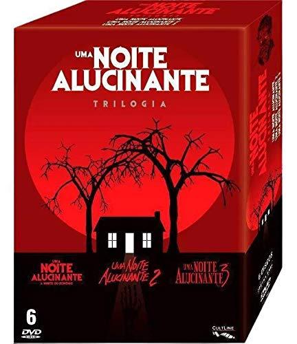 Box DVD Uma Noite Alucinante - 1, 2 E 3 Com 6 DVDs