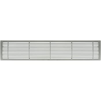 Architectural Grille 200063601 Ag20 Series 6 X 36 Solid Aluminum Fixed Bar Supply Return Air Vent Grille Brushed Satin Amazon Com