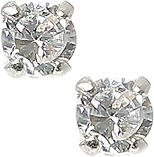 Claires Girls Silver 3 Tear Drop Halo Clip On Drop Earrings