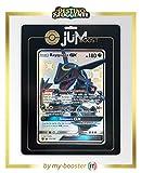 Rayquaza-GX 177A Jumbo Variocolor - Jumboost X Sun & Moon 11.5 Destino Sfuggente - Carta Gigante