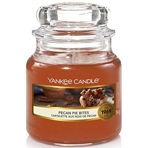 Yankee Candle Candela profumata in giara piccola | Assaggi di Torta di Noci Pecan | durata: fino a 30 ore