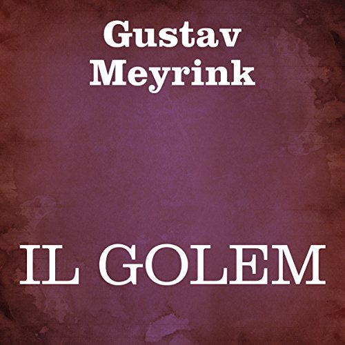 Il golem [The Golem] audiobook cover art