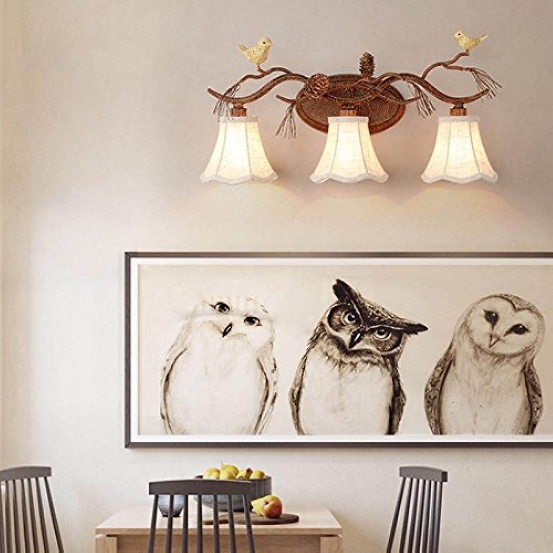 StiefelU LED Birdie Wandleuchten im Straenverkehr Korridore in Nachttischlampe lampe Esszimmer Schlafzimmer Licht Eisen Kunst Spiegel vorne Leuchten, drei - Wandleuchte