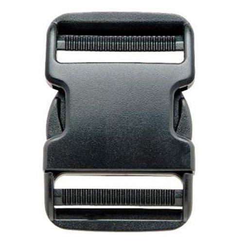 Prym - Cierre de Hebilla (50 mm, plástico), Color Negro