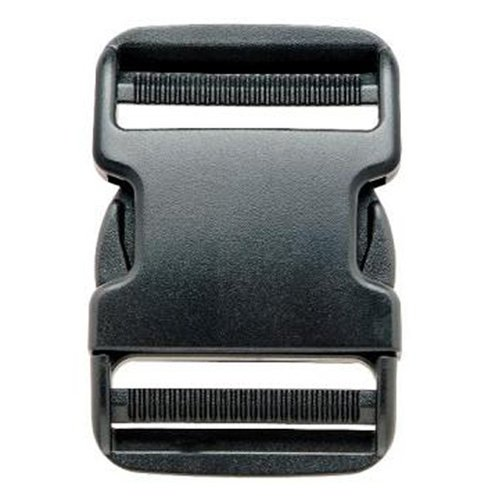 Prym - Buckle Clasp (50 mm, plastic), Color Black