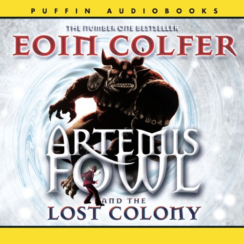 The Lost Colony audiobook cover art