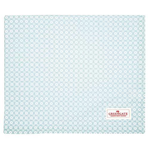 GreenGate COTTAB250HLL2902 Helle Tischdecke Pale Blue 145 x 250 cm (1 Stück)