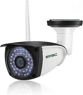 SV3C 1080P WLAN IP Überwachungskamera Aussen/IP66 Wireless IP Kamera mit Deutscher..
