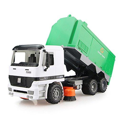 ACHICOO Kinder-Trägheits-Simulation, die Fahrzeug-Plastenbau-Kehrmaschine-Auto-Spielzeug fegt Gag-Geschenke für Kinder