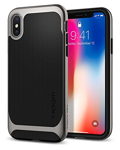 apple iphone x plata fabricante Spigen