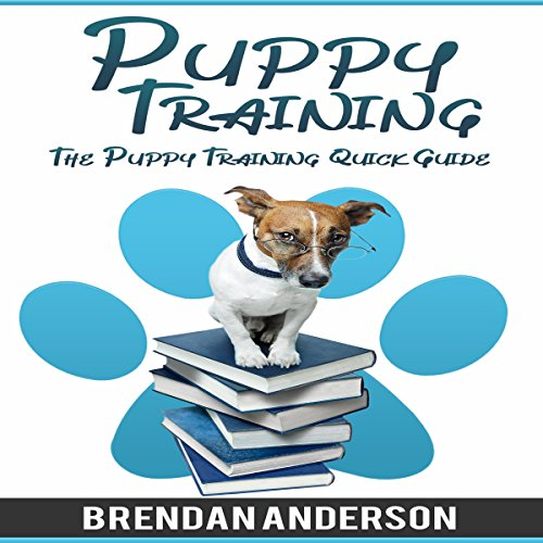 The Puppy Training Quick Guide audiobook cover art