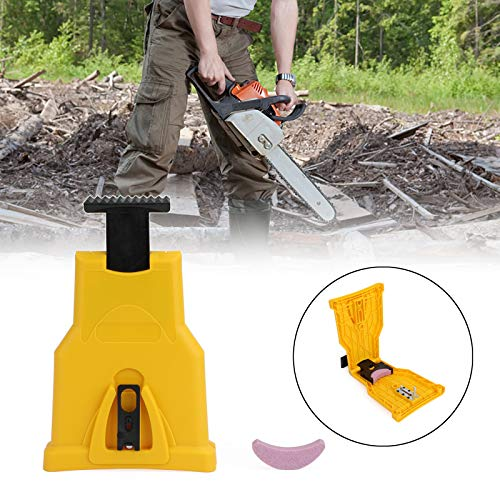 Great Features Of CHENDGE2 Chainsaw Teeth Sharpener Portable Bar-Mount Chainsaw Chain Sharpening Kit...