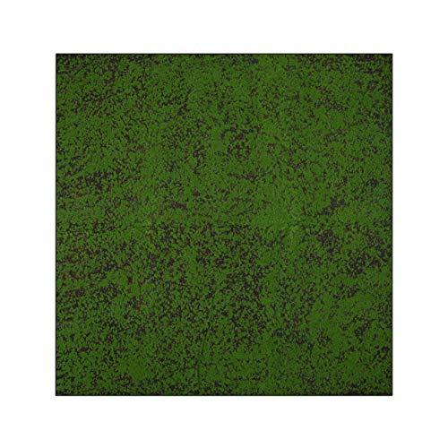 BESPORTBLE Musgo artificial de césped artificial realista, alfombra verde falsa, multiusos, decoración para el jardín del hogar o la terraza