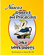 Nasco TB20656T Algebra II and Precalculus Joke Worksheets, 61-Page Book, Grades 9+