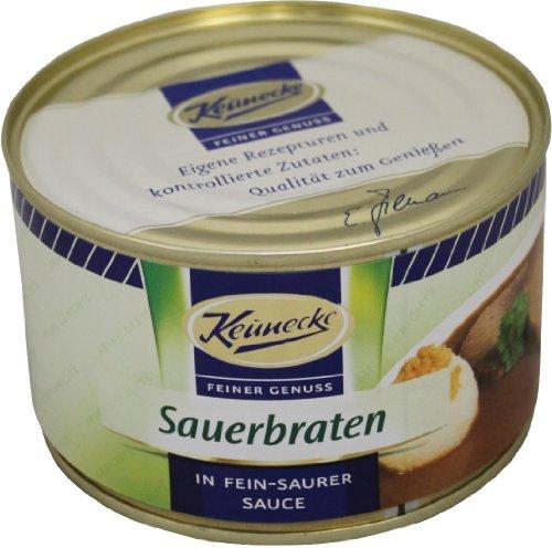 Keunecke Sauerbraten in fein saurer Sauce (400g Konserve)