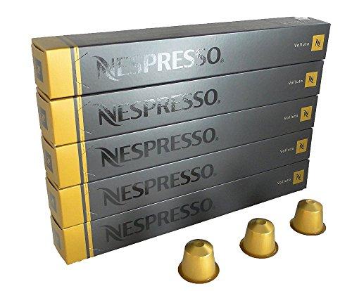 NESPRESSO ネスプレッソ カプセル コーヒー ヴォリュート 1本10カプセル×5本セット [並行輸入品]