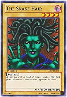 YU-GI-OH! - The Snake Hair (LCJW-EN185) - Legendary Collection 4: Joey's World - 1st Edition - Common