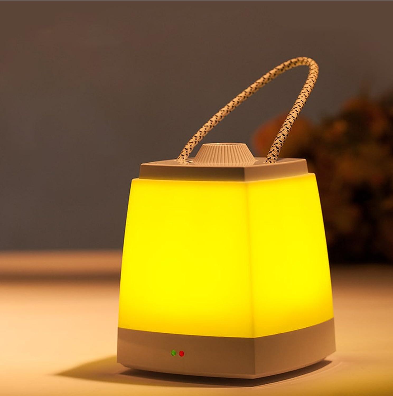 GZEALL Wiederaufladbare Batterie Nachtlicht Nachtlicht Nachtlicht Tischlampe Schlafsaal Schlafzimmer Nachttisch Lampe Kreatives Lichtloses Licht (Farbe   Gelb) B07H4PYVCS | Günstige Preise  a29f86
