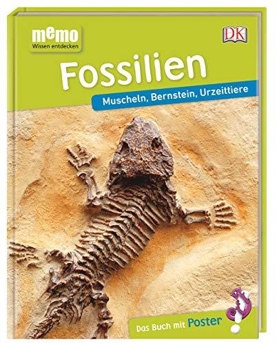 memo Wissen entdecken. Fossilien: Muscheln, Bernstein, Urzeittiere. Das Buch mit Poster!