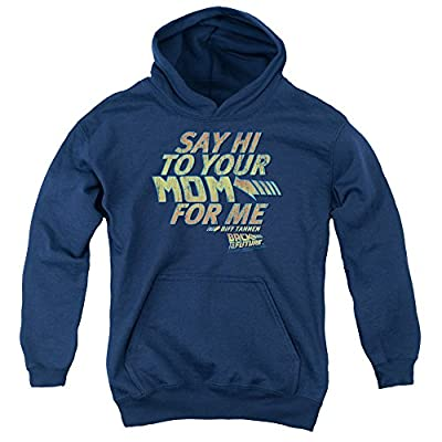 Kids BTTF Hoodie, Say Hi To Your Mom For Me Biff Tannen, S to XL