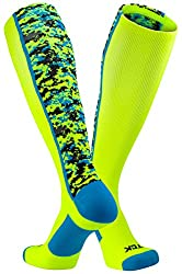 TCK Sports Elite Digital Camo Over The Calf Performance Socks