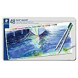 ステッドラー 色鉛筆 48色 水彩色鉛筆 カラトアクェレル 125 M48