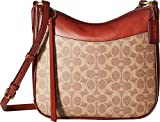 COACH Coated Canvas Signature Chaise Crossbody B4/Tan Rust One Size