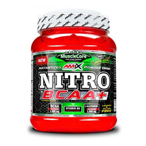 AMIX MuscleCore Nitro BCAA+ - 500 gr Fresh Lemon - Lime
