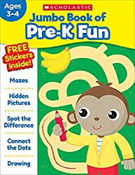 powerful Pre-K Fun Workbook Jumbo Book