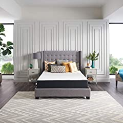 """MEMORY FOAMMATTRESS IN A BOX—All the comfort and trusted quality of a Sealy mattress, delivered right to your door and ready to usewithin 24 hours LAYERS OF COMFORT—Softerconforming memory foam """"hugs"""" you forpersonalizedcomfort throughout the ni..."""