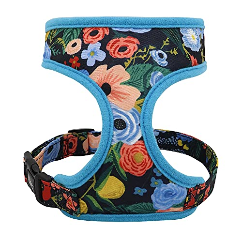 Flower Dog Harness Vest for Printed Chihuahua French Bulldog Adjustable Puppy Cat Harness Pet Small Dog Vest for Pug Yorkie Walking Training