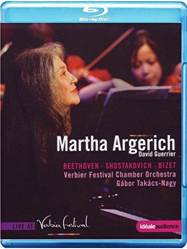 Martha Argerich: Beethoven, Scarlatti, Shostakovich, Bizet [Blu-ray]