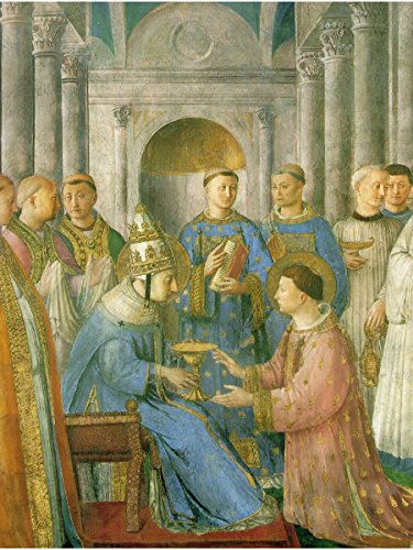 The Ordination of St. Lawrence by Fra Angelico
