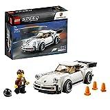 LEGO Speed champion - 1974 Porsche 911 turbo 3.0, Set de Contrucción del Clásico Deportivo, Coche de Juguete Blanco, Novedad 2019 (75895)