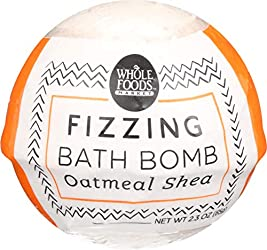 Whole Foods Market, Oatmeal Shea Fizzing Bath Bomb, 2.3 oz